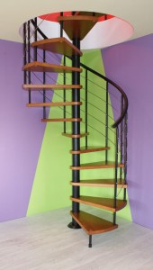 Stairs winding CORA model Bavaria 110 cm
